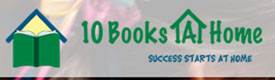 Logo of 10 Books a Home