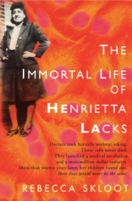 Cover of book on Henrietta Lacks