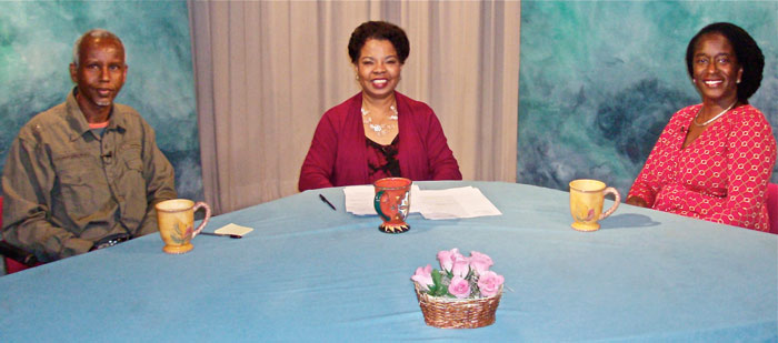 Photo of participants on the show Health Disparities and Infant Mortality