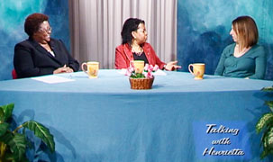 Photo from TV discussion on Nurturing Children