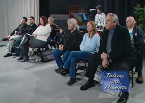 Photo of audience during the show on the Homeowner Bill of Rights