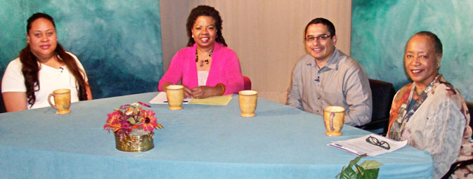 Photo of guests on the show discussing how to Improve the Quality of One's Health