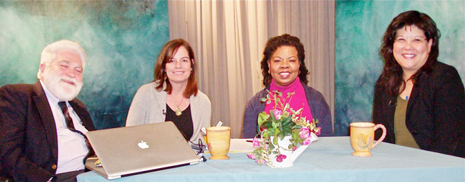 Photo of participants from the Talking with Henrietta show on Preparing for the Future