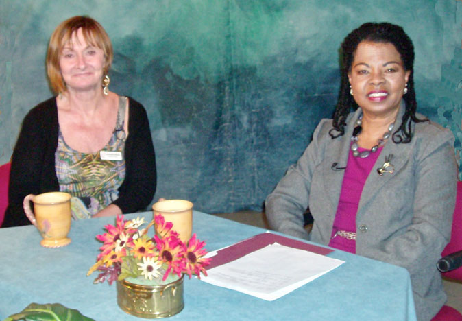 Participants on the show on domestic violence
