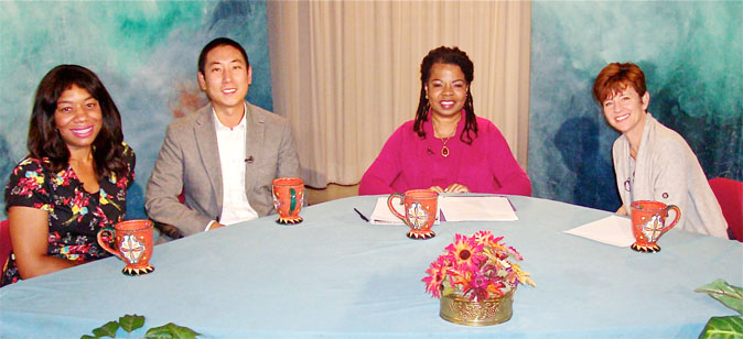 Participants on the tv show on the math misplacement of minority youth