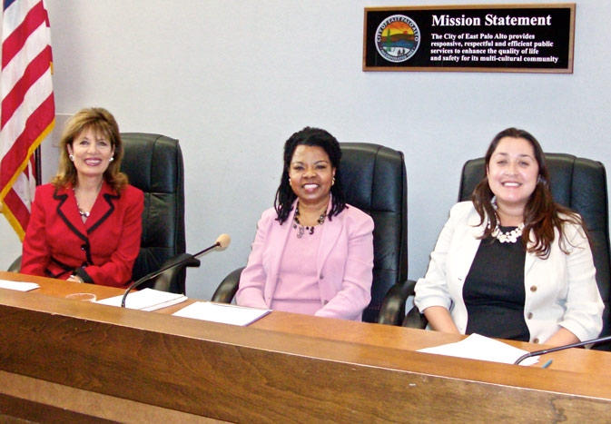 Show photo of Jackie Speier, Henrietta J. Burroughs & Laura Martinez