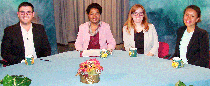 Participants on the show about global citizens