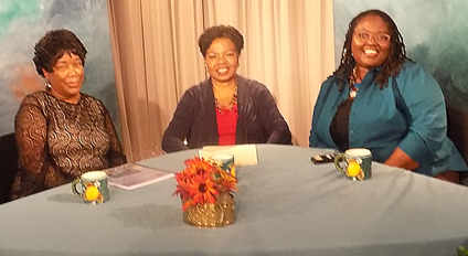 Photo from show on Health Disparities in Minority Communities